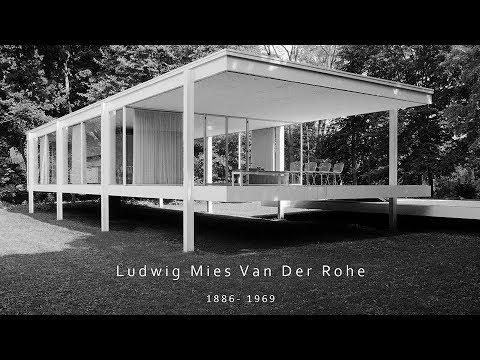 Ludwig Mies Van Der Rohe Sunumu (MOOZ by ZOOM/TPU)