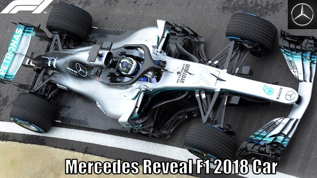 Mercedes Officially Reveal F1 2018 Car Youtube
