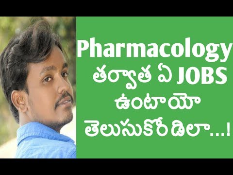 How to know about Pharmacology Jobs for freshers