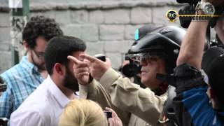 Misa sin iglesia, protesta sin gas 12F