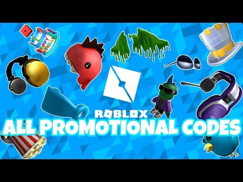 Roblox All Promotional Codes 2019 Youtube
