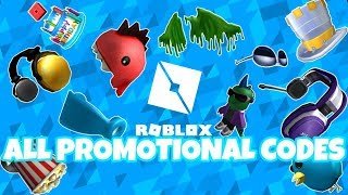 ROBLOX | ALL PROMOTIONAL CODES [2019]