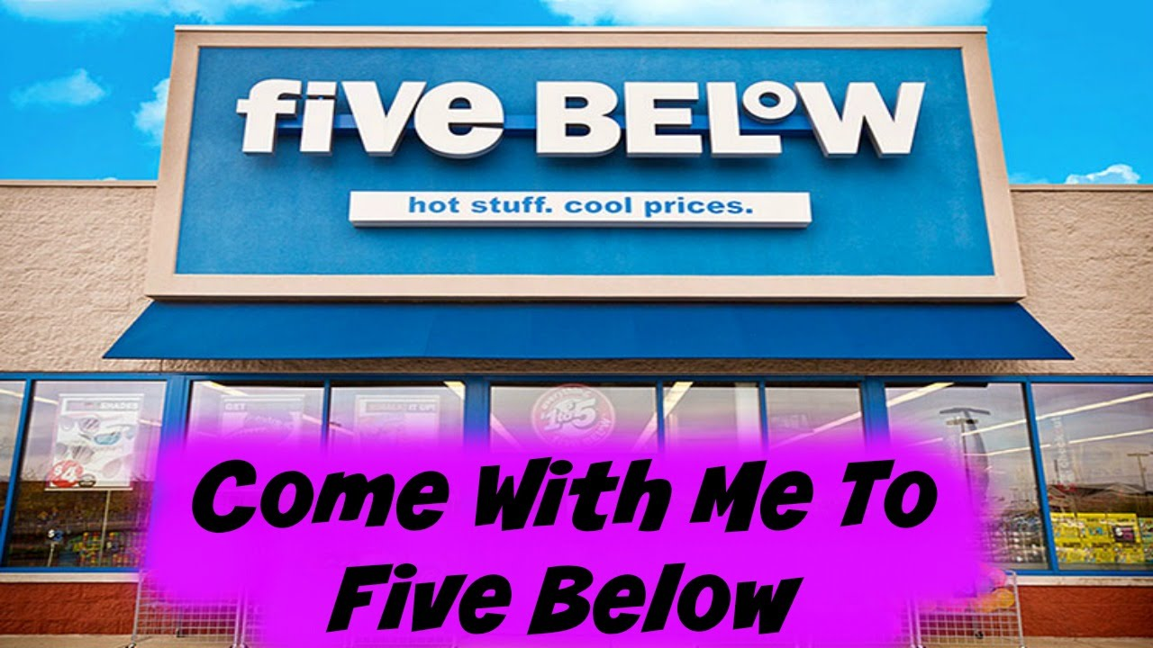Come With Me To Five Below Youtube