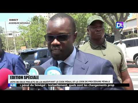 Ousmane Sonko après l'altercation avec Mamadou Mberry Sylla : « Il m'a provoqué et je l'ai corrigé »