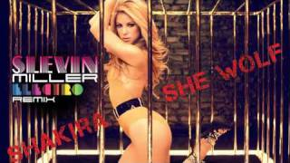 Shakira - She Wolf ( Slevin Miller Electro remix ) - HQ