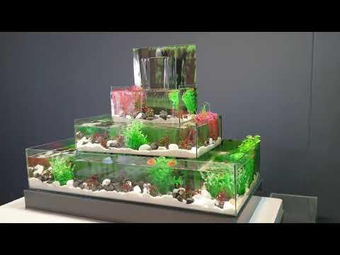 KATLI ŞELALE AKVARYUM - İlginç Akvaryumlar - Akvaryum Yapım Videoları