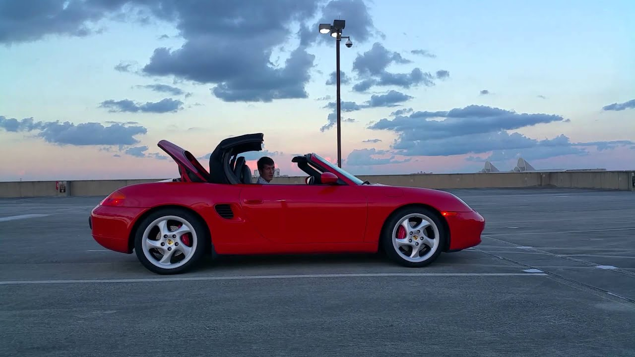Porsche Boxster S Convertible Top Operation You