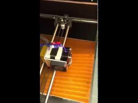 MES LLC First 3D print Job!