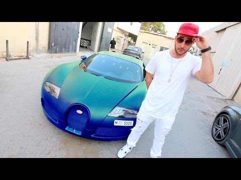 My Friend's Bugatti is Crazy !!!