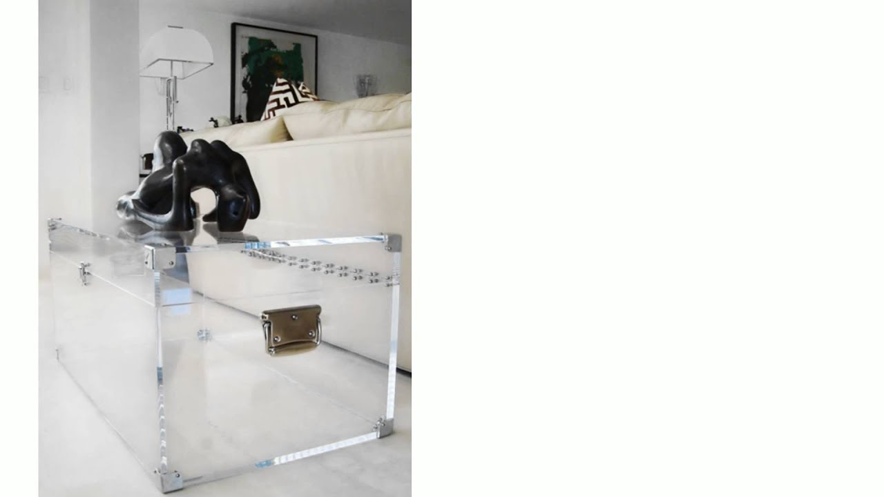 Lucite Trunk Coffee Table By Serge De Troyer   Home Décor @ TheStore.com