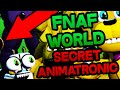 SECRET ANIMATRONIC EAR in NEW FNAF WORLD TEASER? || METAL ADVENTURE FREDDY?