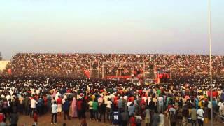 MPs introduced on stage at Kigoma All Stars/ Leka Dutigite