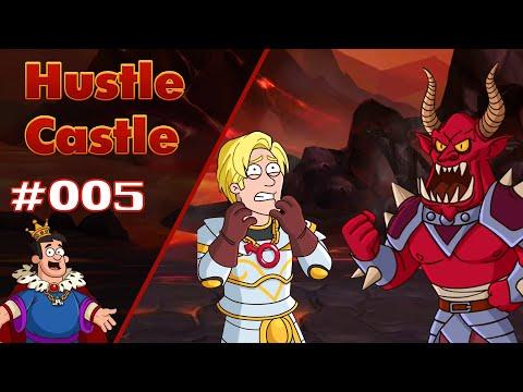 Argonius The Fire Baron Boss Fight | Hustle Castle E005