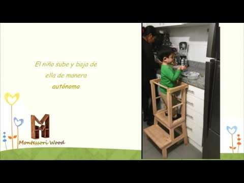 Video Torre de Aprendizaje   Montessori Wood