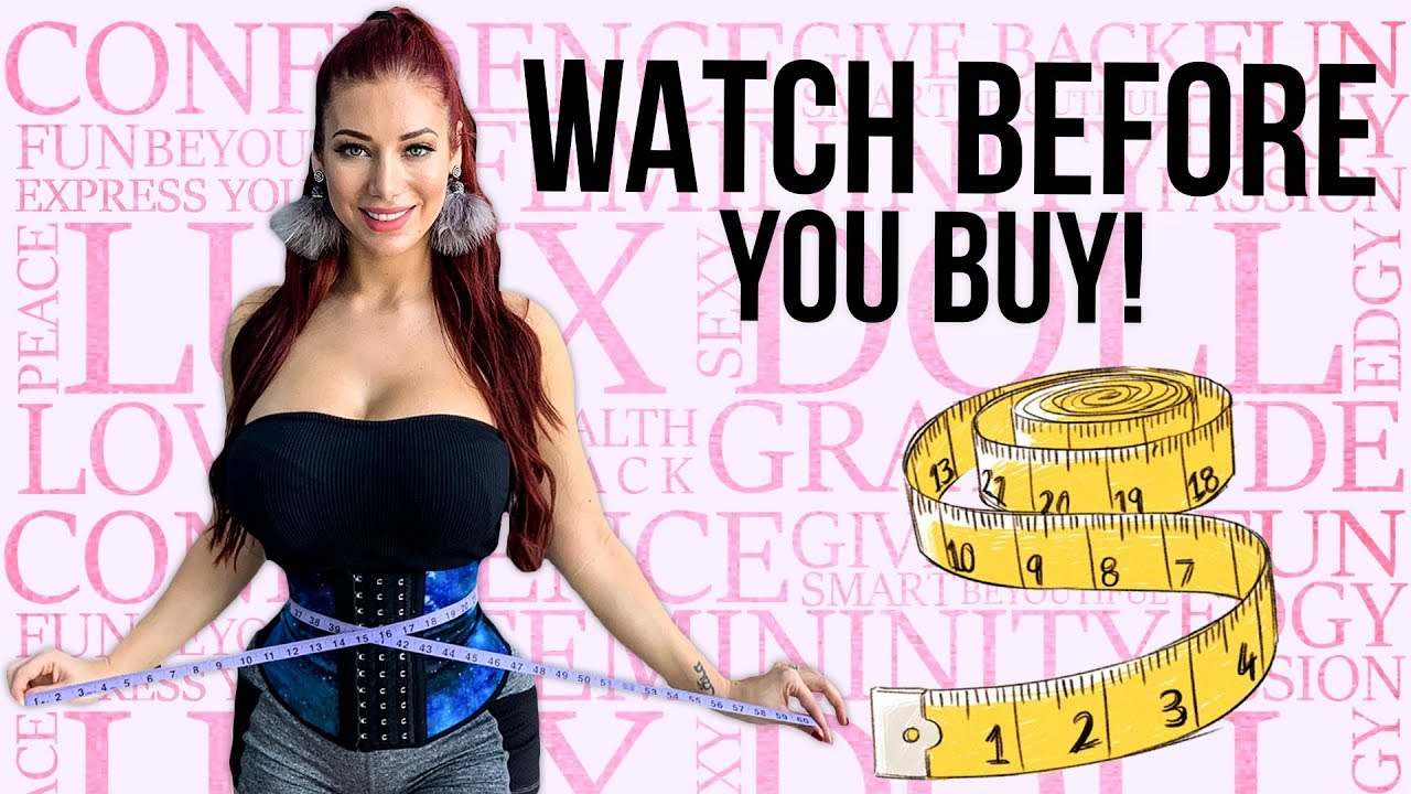 b7246c1784 How to Measure Yourself For a Luxx Curves Waist Trainer 2019 UPDATE ...