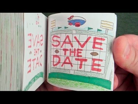 Custom Bar Mitzvah Save-The-Date & Invitation - Hand Drawn