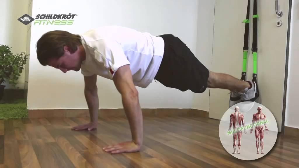 Schlingentrainer Suspension Trainer Schildkröt-Fitness Slingtrainer