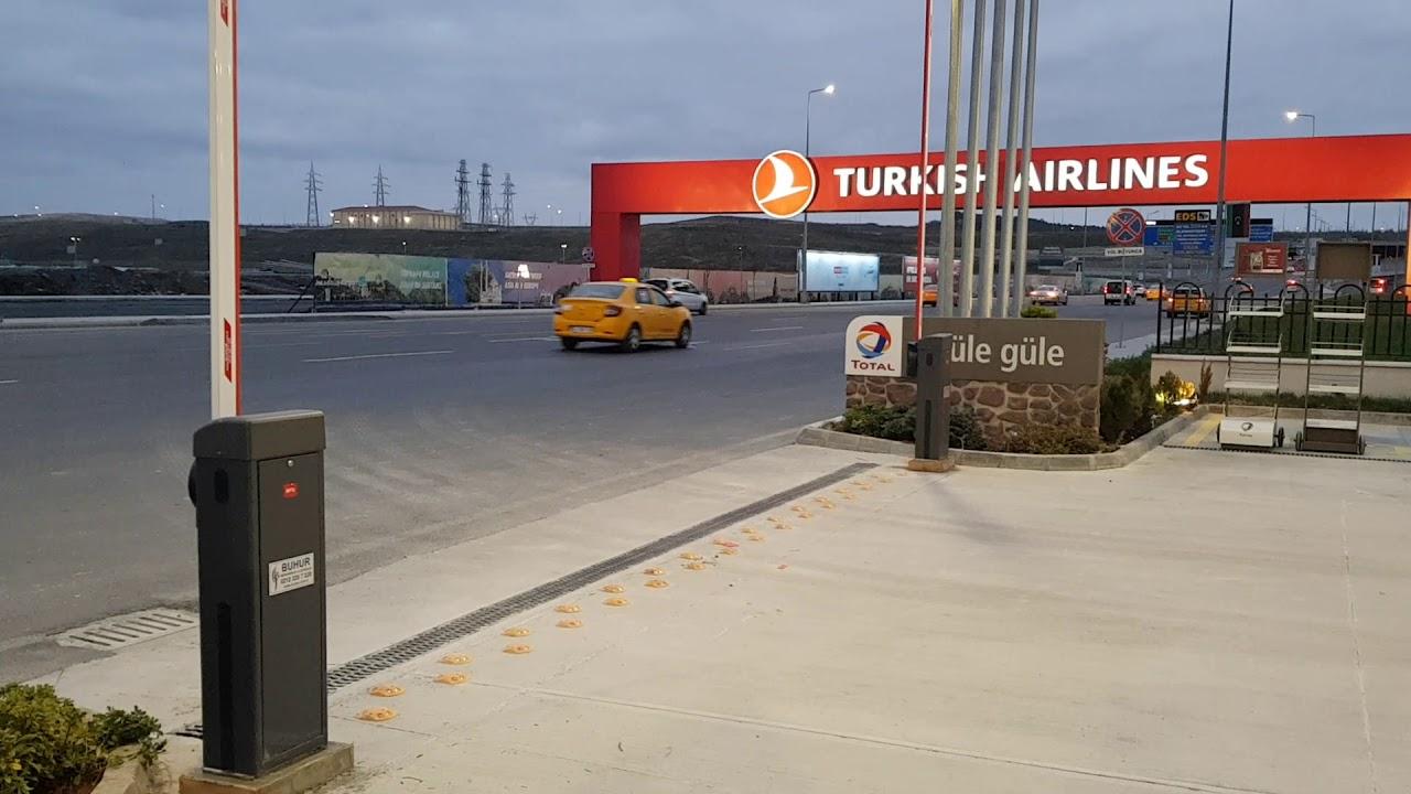 Cep Telefonu İle Açılan Senkronize Otopark Bariyeri ...