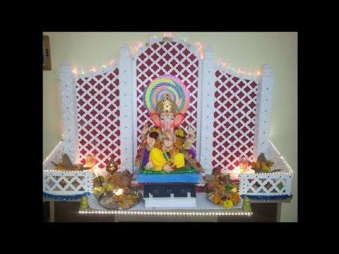 Ganpati Thermocol Decoration Ideas 2018 At Home Easy Mumbai Times