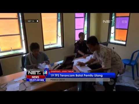 NET24 - Pemilu Ulang Di Sampang Batal