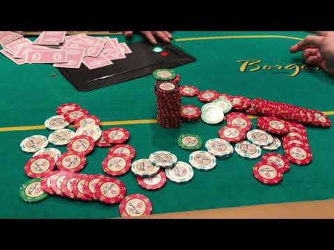 Blind ALL IN Flips for STACKS At The Borgata Poker Room - Vlog #63