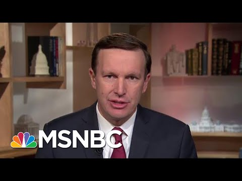 Senator Chris Murphy: Once Again, President Donald Trump Making Things Up | Morning Joe | MSNBC