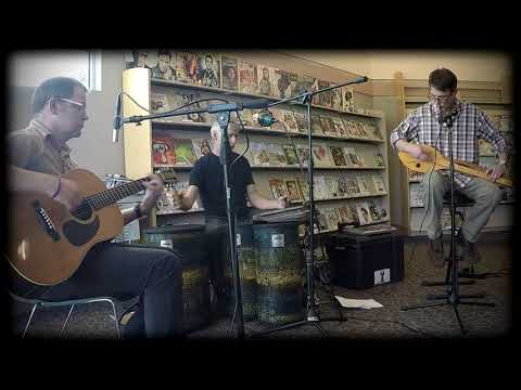 Woodshed, gourd dulcimer, live at the library