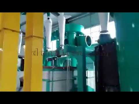 We Are Helping Our Customer Build The Steel Structure Flour Mill Plant