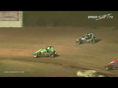 USAC/CRA Sprint Feature Highlights | Canyon Speedway Park 3.9.18