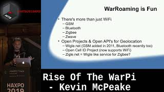 #HITBHaxpo D2 - Rise Of The WarPi - Kevin McPeake