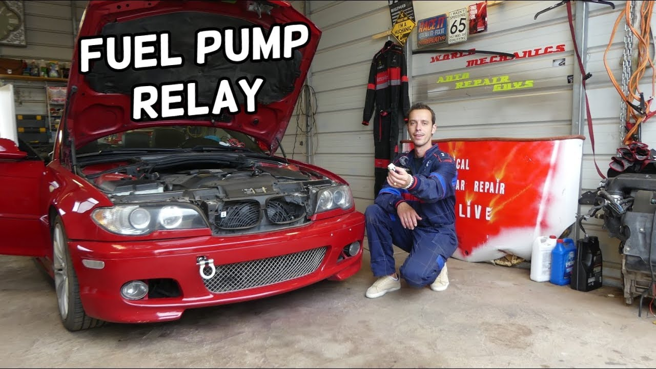 Bmw E46 Fuel Pump Relay Location Replacement Bmw E46 Not Staring