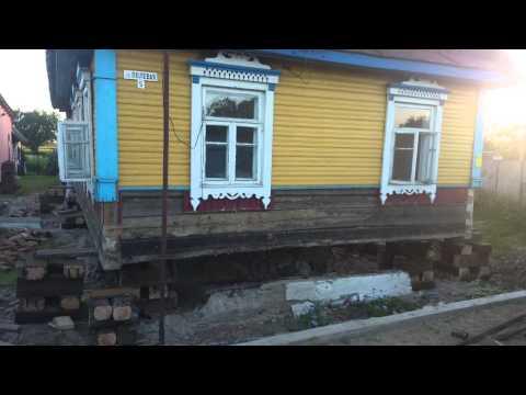 Замена фундамента старых домов