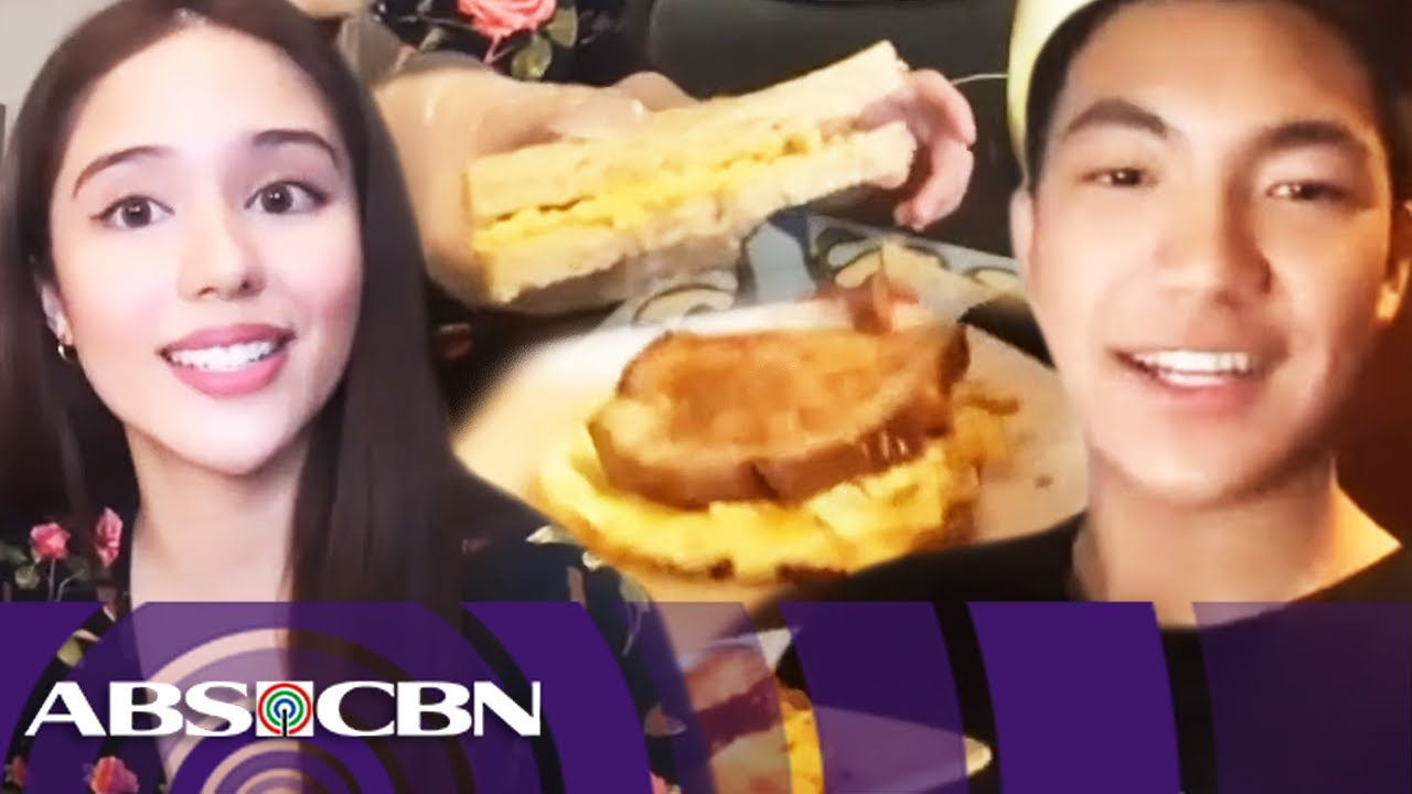Darren and Jayda share different versions of egg sandwich | Kapamilya Chat Exclusives