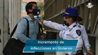 Pese a esperar un aumento en los casos de Covid-19 en la capital, se estiman menos hospitalizaciones; se alista, también, la vacunación contra la influenza