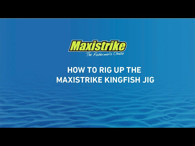 Learn how to rig up the Maxistrike Kingfish jig