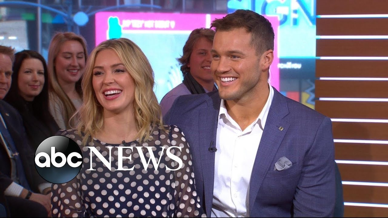 Colton and Cassie open up about their journey to love l GMA image