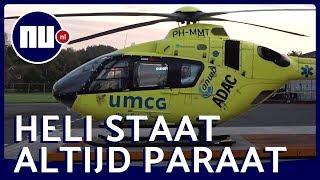 Dit doet de bemanning van een traumahelikopter | NU.nl