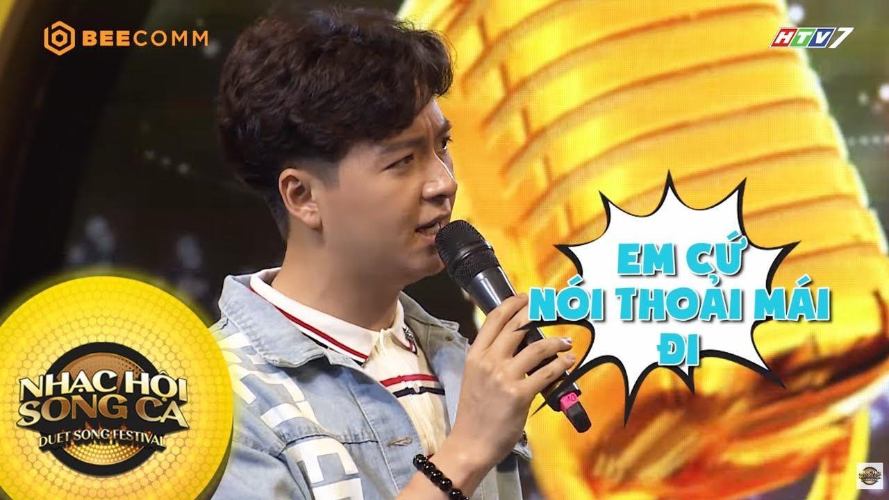 Ngô Kiến Huy nhây hết cỡ, không cho Thanh Duy idol về chạy show | Hậu trường Nhạc Hội Song Ca mùa 2