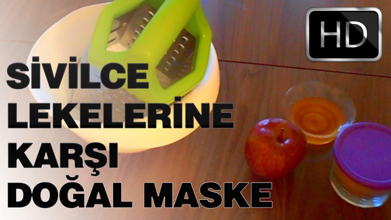 Cilt lekelerine karşı maske