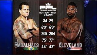 PFL Full Fight Friday: Vinny Magalhaes vs. Rakim Cleveland