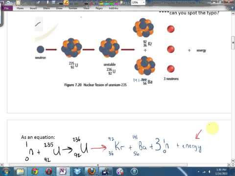 Science 10 7.3 Nuclear Reactions