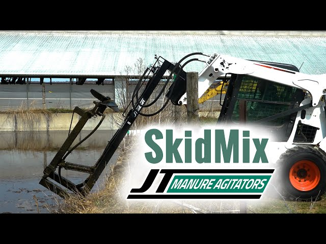 JT SkidMix a skidloader manure agitator attachment