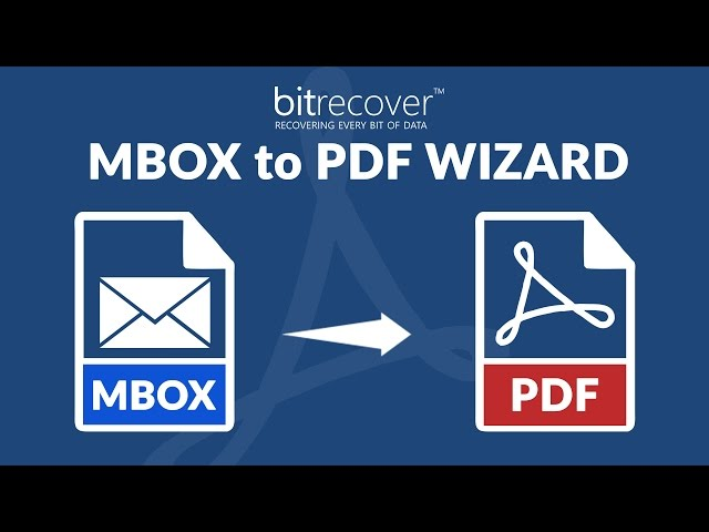 MBOX to PDF Converter – Convert MBOX Emails to PDF with Attachments