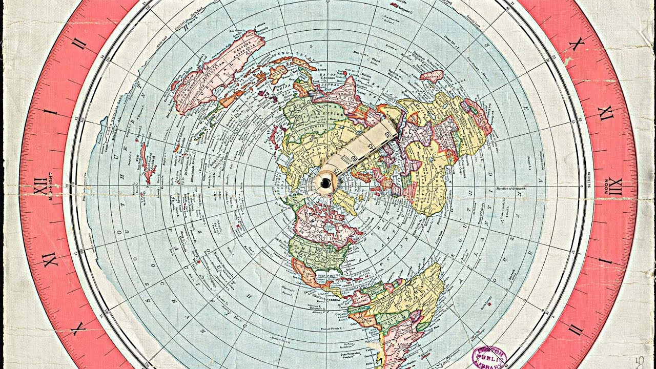 Earth Is Flat   Best Flat Earth Map Explanation   YouTube