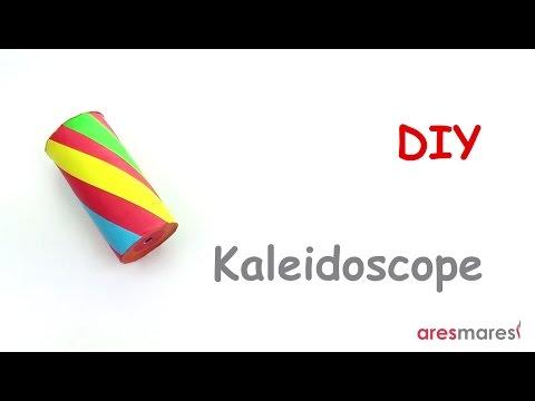 DIY How to make a kaleidoscope