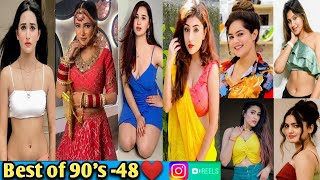 Most Viral 90's song Tiktok-48❤️|Beautiful Girl's 90's Song Tiktok|Romantic 90's Song|Cute 90s Reels