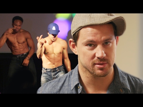 Channing Tatum Dances at Prank Magic Mike XXL Screening