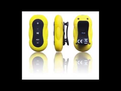 Aerb 4G | 100% WATERPROOF MP3 Music Player for Swimming