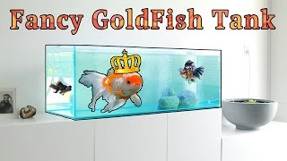 Fanciest Goldfish Tank in the World! HD