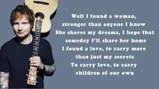 Download Lyrics - Perfect (Ed Sheeran) MP3 song and Music Video